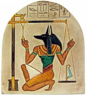 Legile care ne guvernează - Anubis cu Balanța