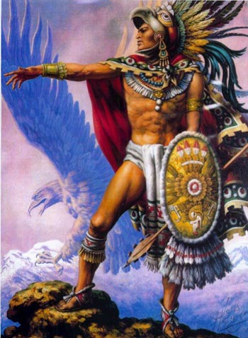 Aztec eagle-tiger knights