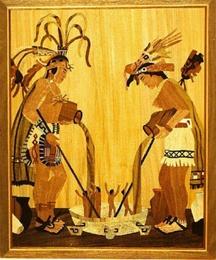 Popol Vuh- Maya- Painting