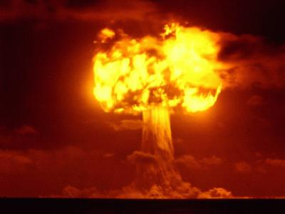 Nuclear bomb (Materialistic Science)