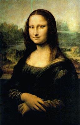 Gioconda/Monalisa- Leonardo da Vinci (Sacred Art- Early Art)