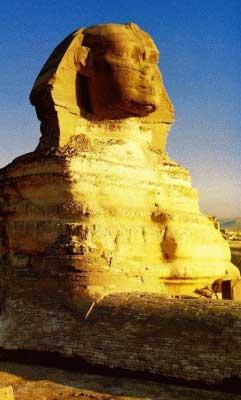 Sphinx of Giza/Egypt- Architecture art (Sacred architecture)
