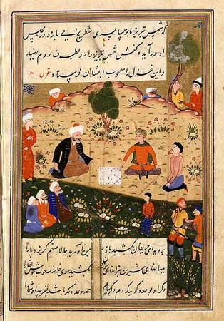 Cunoașterea în literatura sufistă-Tablou Esoteric Sufist