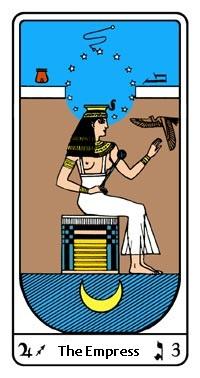 Tarot, Arcanum No. 3, Egyptian Tarot, The Empress