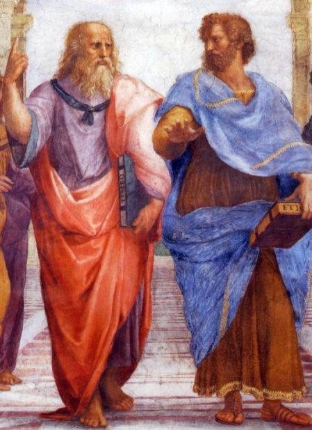 Platon y Aristóteles