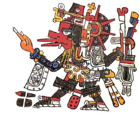 Quetzalcoatl - Mayan Cristo