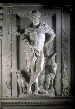 Artus Quellinus - Hermes Trismegistul cu Caduceul lui Mercur