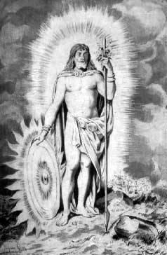 Balder, MITURI ŞI LEGENDE NORDICE, Odin