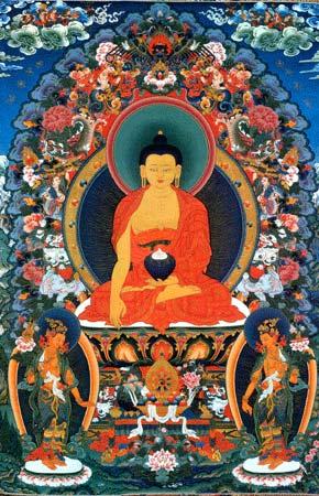 LES 4 SAINTES VÉRITÉS  - Bouddha