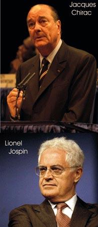 Jacques Chirac y Lionel Jospin- Ovnis- (Los ovni y la defensa)