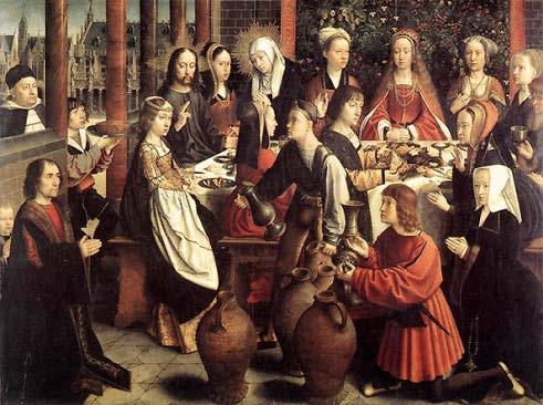 Kánai menyegző (Gerard David, 1500)