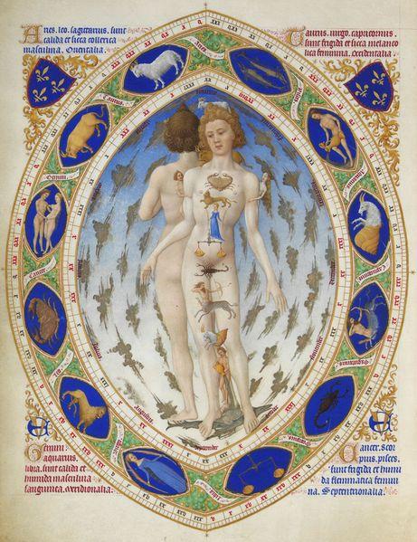 L'Influence Astrologique - El Hombre Zodiaco