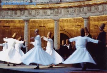 El arte -  Derviches, danzas