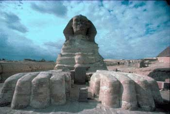 The Sphinx comes from Atlantis, Egypt, Giza