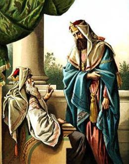 David y su hijo Solomon