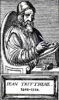 Johannes Trithemius (Esteganografía- codice occultista svelato), alfabeto inverso