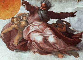 Intelligent Design- Creator- Michelangelo (Sixtine Chapel)