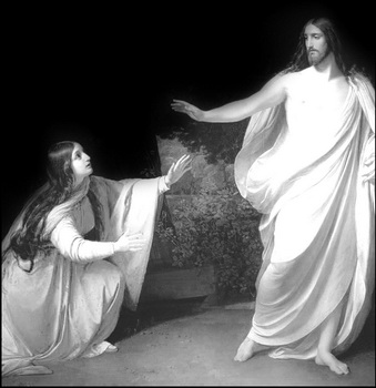 Marie-Madeleine avec Jésus-Christ