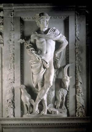 Il simbolo mercuriale, Mercurio, Hermes
