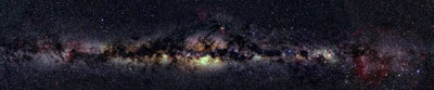 Galaxie La Voie Lactée