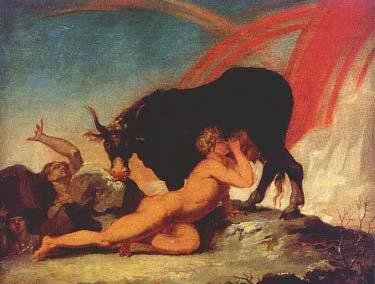 Norse Mythology - AUDHUMLA Cow