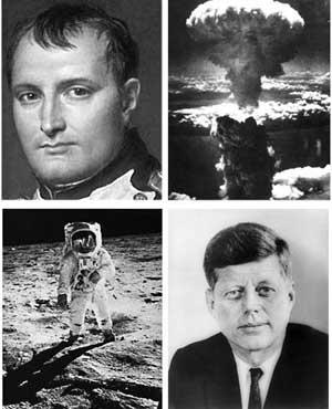 Michel de Nostredame- Próféciák:  Cromwell, Napóleon Bonaparte, Hitler, De Gaulle, Mussolini, John F. Kennedy