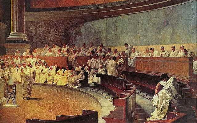 El Origen de la Ley - El Derecho Romano: Maccari, Cicero