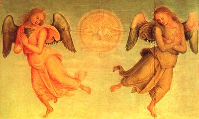 Profeti i predskazivači (vračari)i - Perugino: Sveti Duh