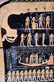 La déese Nout - La mère de l'Univers - L'image exprime l'ordre universel