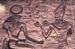 Sielu jumala Ran edessä- oman sisäisen jumaluuden symboli