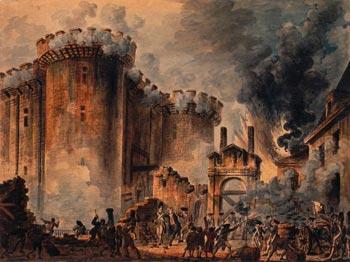 A francia forradalom- A Bastille bevétele (Nostradamus)