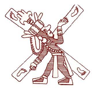 Quetzalcoatl avec la Croix