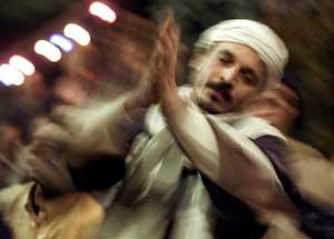 Sufi dansando