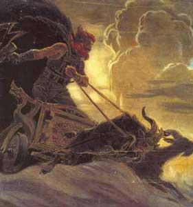 Thor, Odin fia