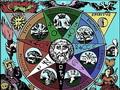 La Conquête de la Pierre Philosophale - Dessins alchimistes 1 - Anima Spiritus Corpus