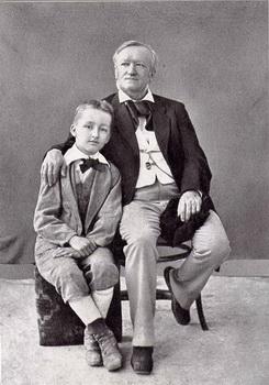 Richard Wagner e seu filho