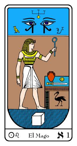 Tarot, Tarot No. 1 de Arcano, Tarot Egipcio