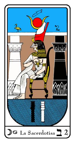 Tarot, Tarot No. 2 de Arcano, Tarot Egipcio