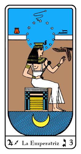 Tarot, Tarot No. 3 de Arcano, Tarot Egipcio