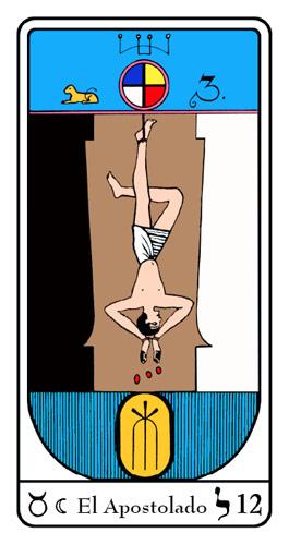 Tarot, Tarot No. 12 de Arcano, Tarot Egipcio