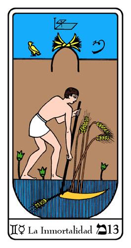 Tarot, Tarot No. 13 de Arcano, Tarot Egipcio
