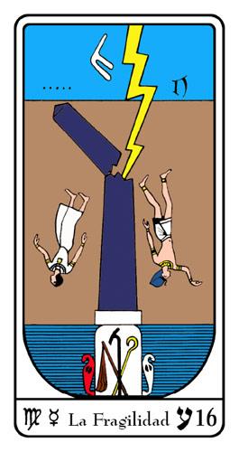 Tarot, Tarot No. 16 de Arcano, Tarot Egipcio