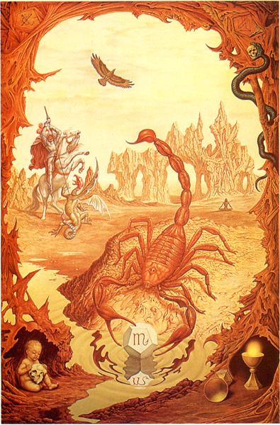 A Skorpió állatövi jegye (Johfra Bosschart)