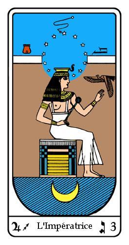 Tarot, Tarot - Arcane N°3, Tarot Égyptien