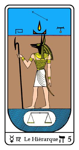 Tarot, Tarot - Arcane N°5, Tarot Égyptien