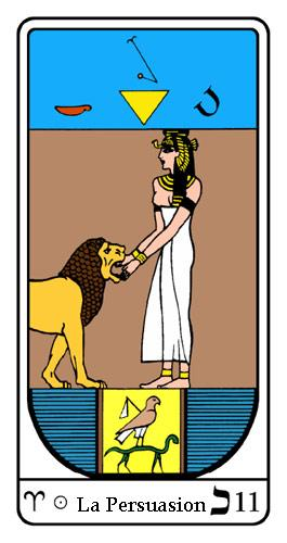 Tarot, Tarot - Arcane N°11, Tarot Égyptien