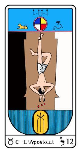 Tarot, Tarot - Arcane N°12, Tarot Égyptien