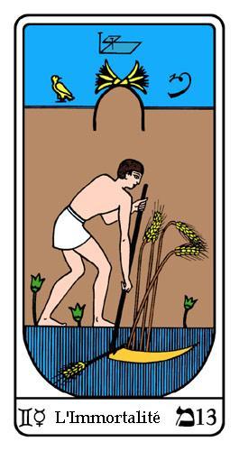Tarot, Tarot - Arcane N°13, Tarot Égyptien