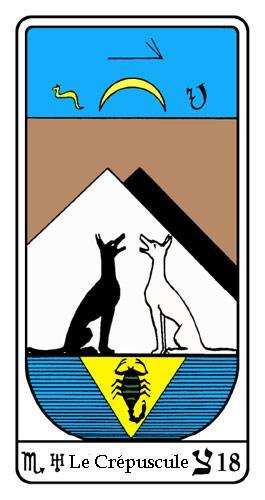 Tarot, Tarot - Arcane N°18, Tarot Égyptien