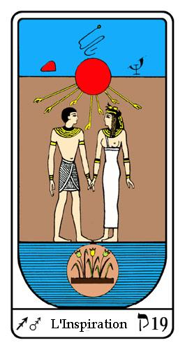 Tarot, Tarot - Arcane N°19, Tarot Égyptien